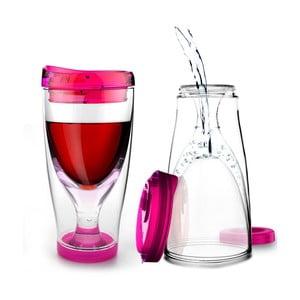 Termos Ice Vino 2GO, różowy
