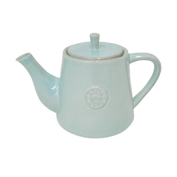 Turkusowy ceramiczny dzbanek do herbaty Ego Dekor Nova,1,07l