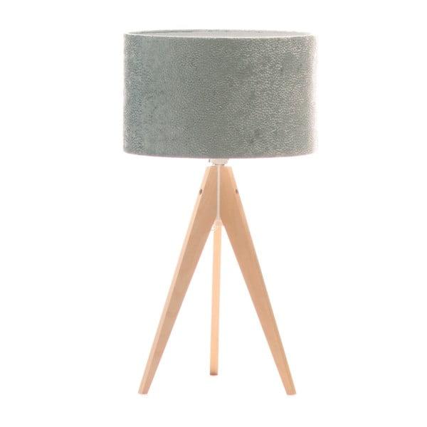 Lampa stołowa Artist Celestia Blue/Birch, 65x33 cm