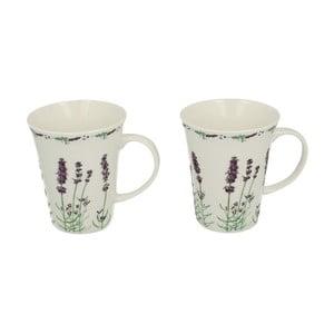 Zestaw 2 porcelanowych kubków Lavender