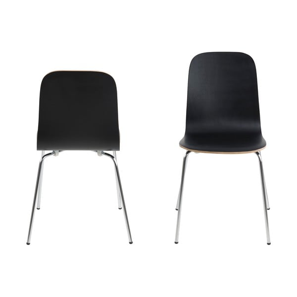 Krzesło do jadalni Bjoorn, czarne