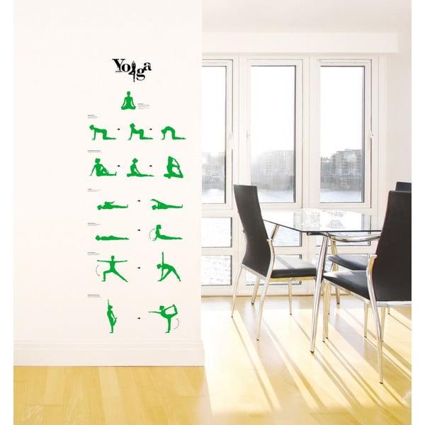 Naklejka Yoga Lessons