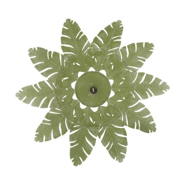 Zielona lampa wisząca z żelaza Mauro Ferretti Leaf