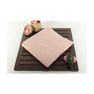 Pudrowy dywanik łazienkowy Bath, 50x70 cm