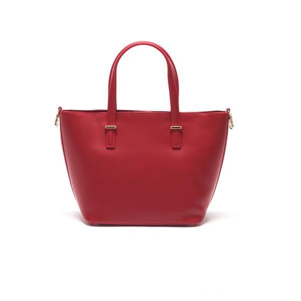 Skórzana torebka Thier 3005 Rosso