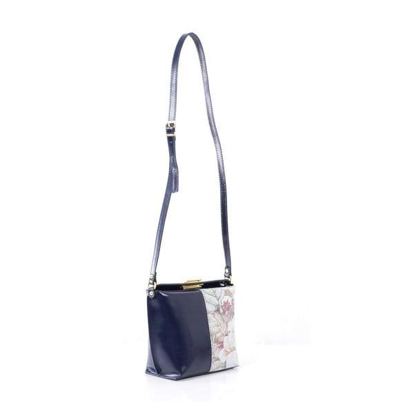 Skórzana torebka Tracy, ciemnoniebieska