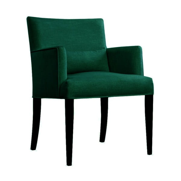 Zielony fotel JohnsonStyle Andreas