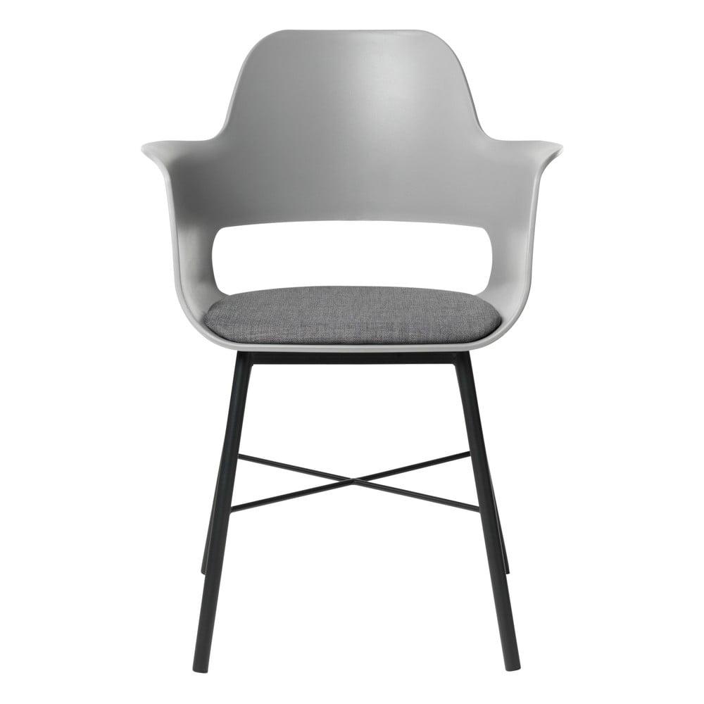 Szare krzesło Unique Furniture Wrestler
