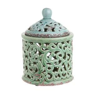 Zielony pojemnik ceramiczny InArt Ngana