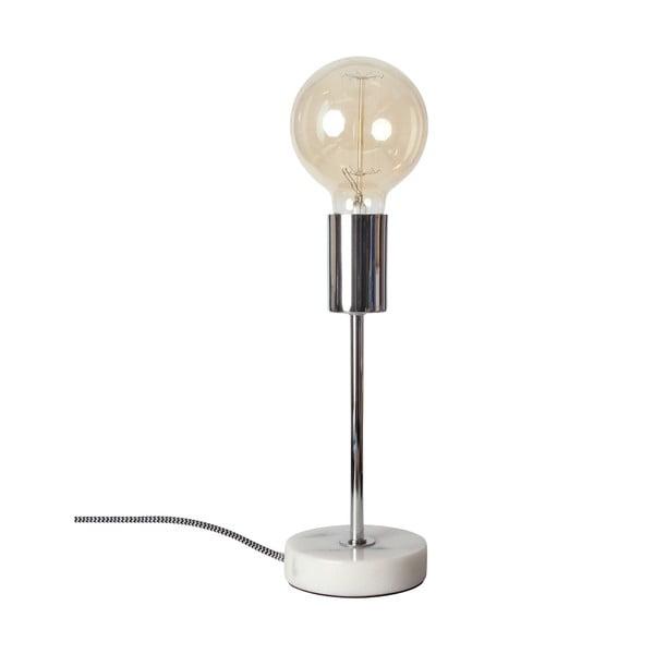Lampa stołowa Peter Chrome, 25 cm