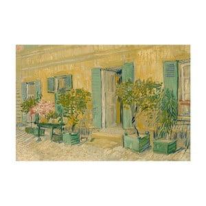 Obraz Vincenta van Gogha - Exterior of a Restaurant in Asnières, 40x26 cm