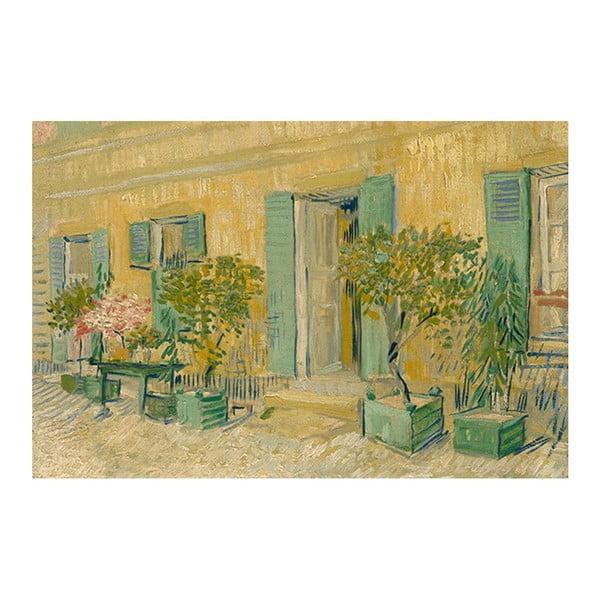 Reprodukcja obrazu Vincenta van Gogha - Exterior of a Restaurant in Asnières, 60x40 cm