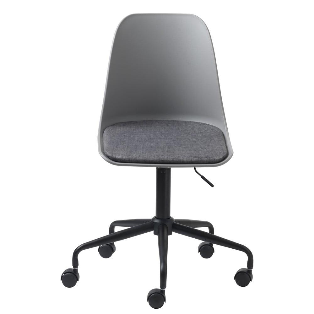 Szare krzesło biurowe Unique Furniture