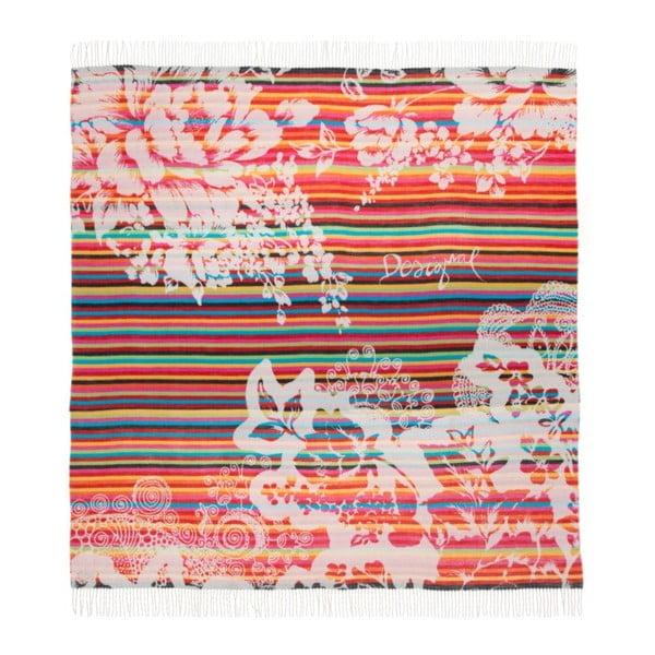 Koc DESIGUAL Negro, 150x170 cm