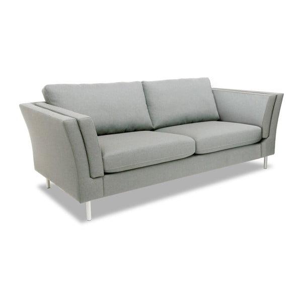 Jasnoszara sofa 2-osobowa Vivonita Connor