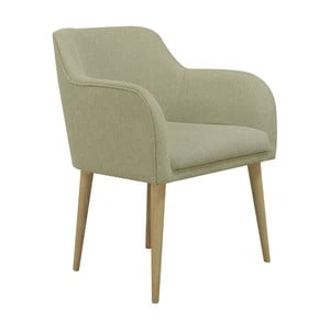 Beżowy fotel Helga Interiors Matt
