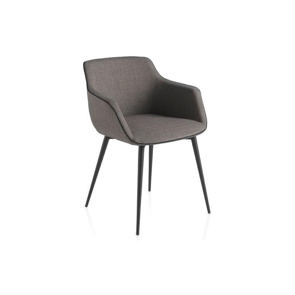 Szare krzesło Ángel Cerdá Sublim