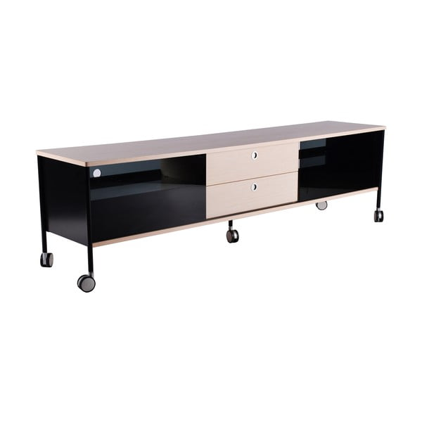Stolik TV Alessi 180 cm, czarny