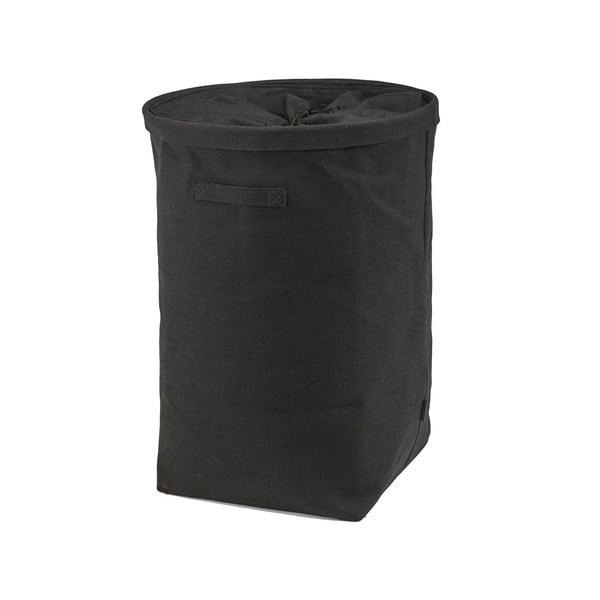 Kosz na pranie Tur, czarny