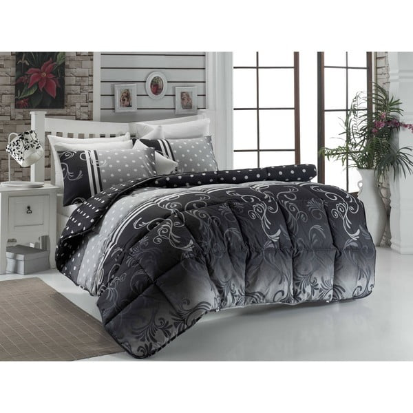 Narzuta pikowana na łóżko jednoosobowe Bruna, 155x215 cm