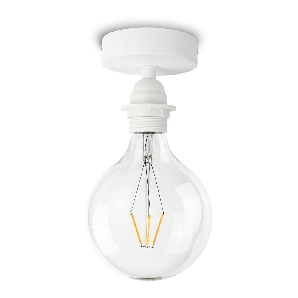 Biała lampa sufitowa Bulb Attack Uno Basic