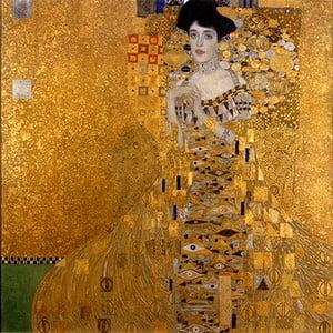Reprodukcja obrazu Gustava Klimta – Bauer I, 60x60 cm