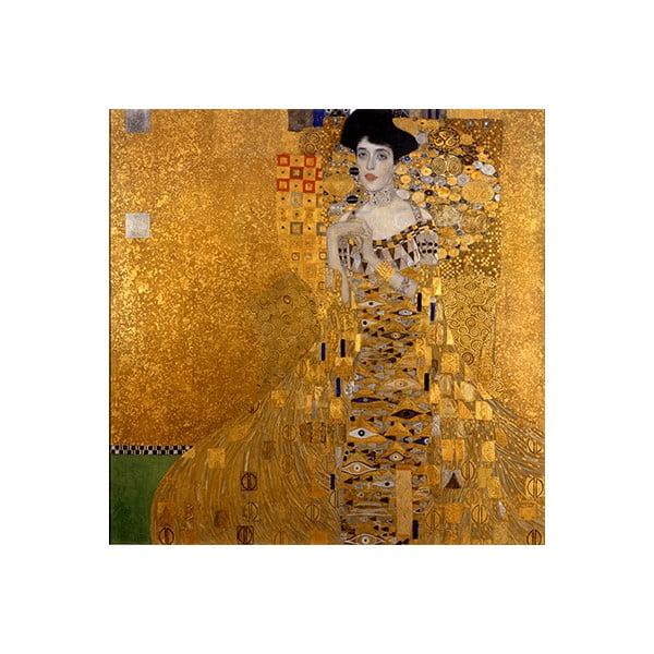 Reprodukcja obrazu Gustava Klimta – Adele Bloch–Bauer I, 90x90 cm