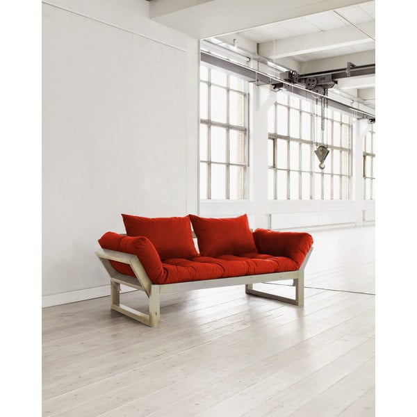 Sofa Karup Edge Natural/Red