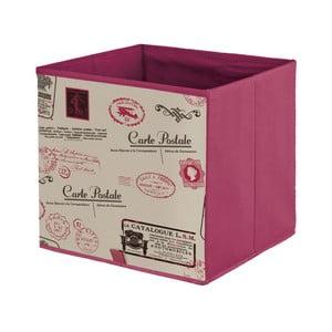 Fioletowe pudełko Domopak Stamps