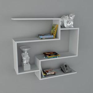 Półka Porto Book White, 22x90x82 cm