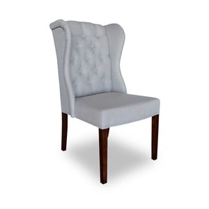 Jasnoszare krzesło Massive Home Michelle