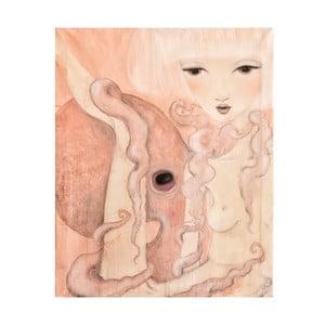Plakat autorski: Léna Brauner Oktopus, 60x72 cm