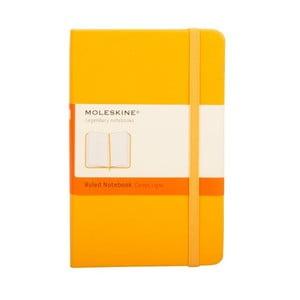 Notes Orange Hard, w linie