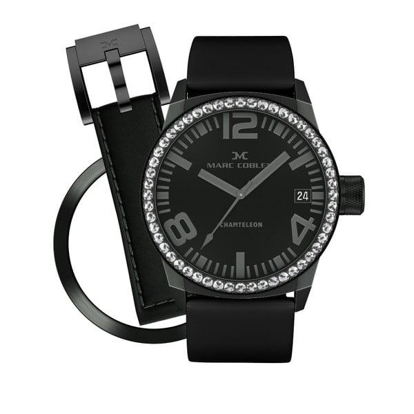 Zegarek damski Marc Coblen z dodatkowym paskiem i obręczą P64