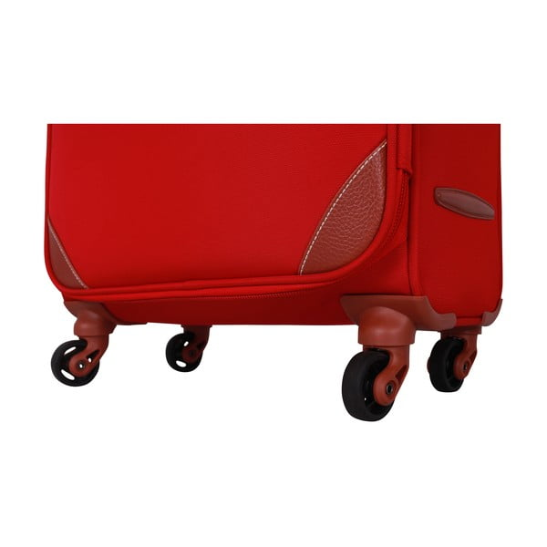 Zestaw 3 walizek Jean Louis Scherrer Valises Red
