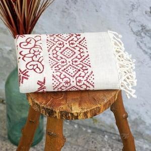 Ręcznik hamam Cloth Claret Red, 90x180 cm
