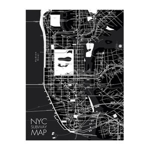 Obraz Eurographics NYC Subway