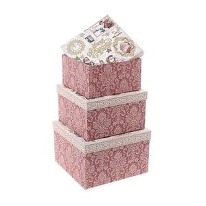 Zestaw 3   pudełek na prezenty InArt Christmas