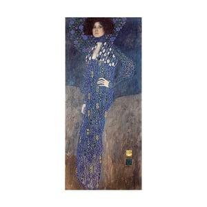Reprodukcja obrazu Gustava Klimta - Emilie Flöge, 90x40 cm