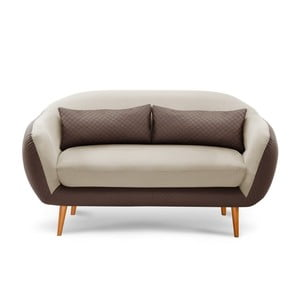 Sofa trzyosobowa Meteore Brown/Cream