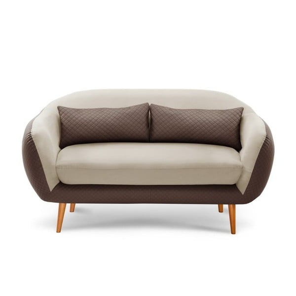 Sofa trzyosobowa Meteore Brown/Cream