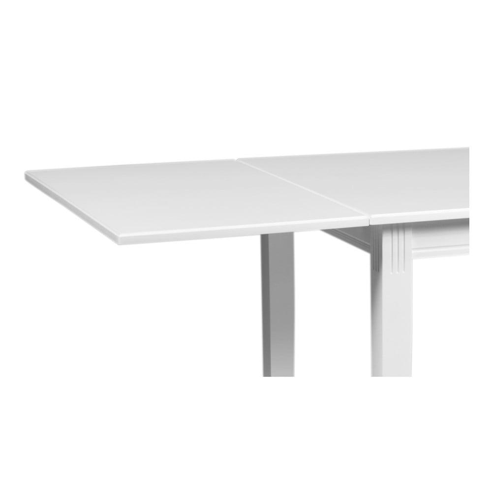 Biały dodatkowy blat do stołu do jadalni Rowico Wittskar, dł. 90cm