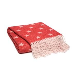 Czerwony pled Damai Himmelen,125x170cm