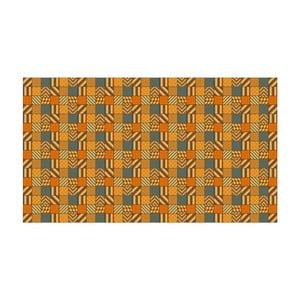 Dywan winylowy Kalia Orange, 52x100 cm