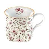 Biały kubek porcelanowy Creative Tops Floral