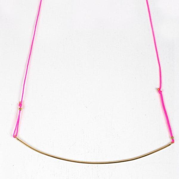 Naszyjnik Luna Neon Pink