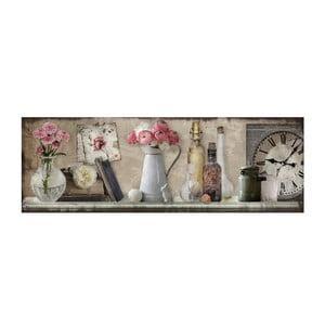 Obraz Kwitnący gzyms, 90x30 cm