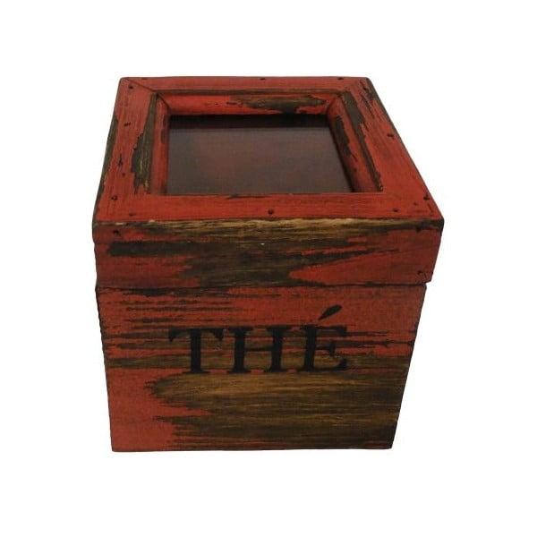 Pojemnik Thé Rouge Antique, 12x12 cm