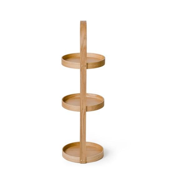 Stojak/szafka łazienkowa Wireworks Round Caddy Mezza, 3 półki