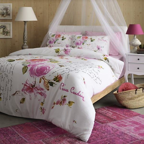 Pościel Pierre Cardin Pink Roses, 200x220 cm